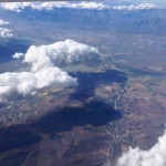 View on flight from Cape Town to Port Elizabeth
